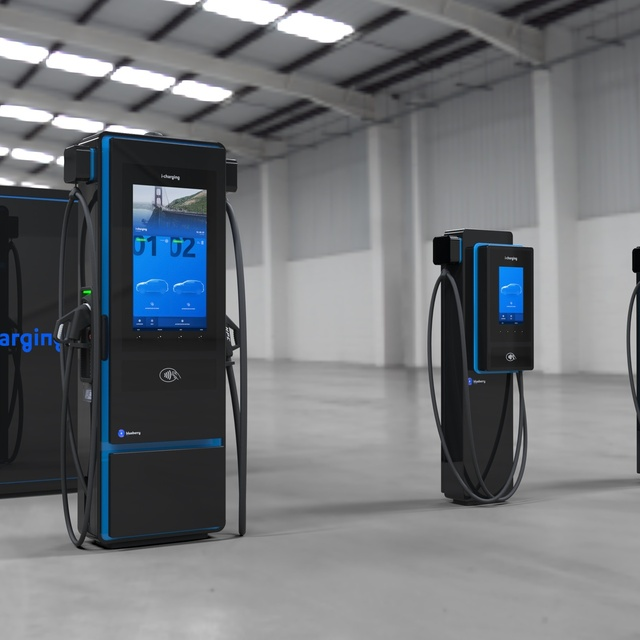 i-charging presented blueberryTM: first range of fast chargers in October 2020