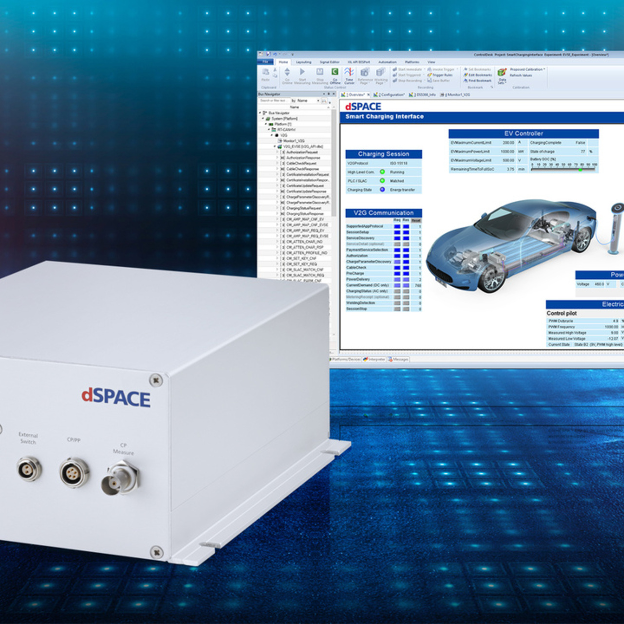 The Smart Charging Solution from dSPACE
